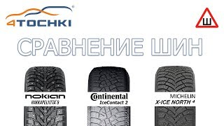 michelin X-ICE North 4 vs Nokian Hakkapeliitta 9. Тестируем шины. Улетели в сугроб