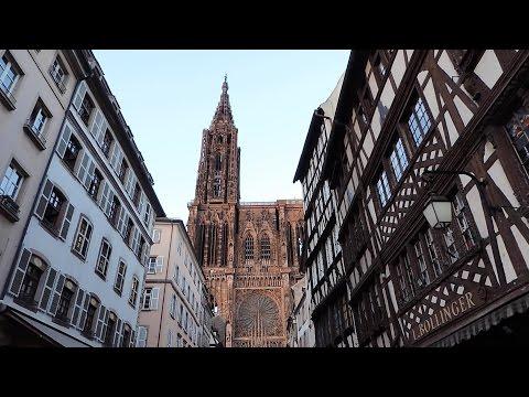 Strasbourg, European Parliament and Parc de l'Orangerie 2016