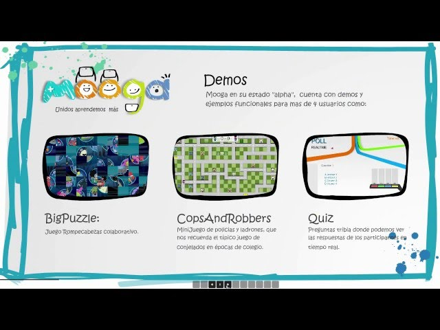 Mooga - Advergames Edugames colaborativos multiusuarios Android