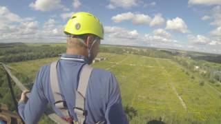 7 августа Прыжки с веревкой в Миснке, 8(, 2016-08-11T02:46:09.000Z)