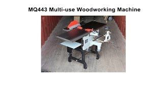 Multi use Woodworking Machine MQ443 Installation