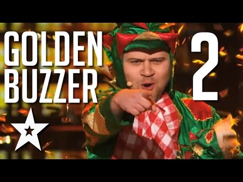 Best Golden Buzzer Moments 2015 Part 2 | Got Talent Global