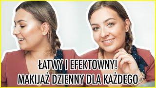 WSZYSCY pytają o te CIENIE! - 1 PĘDZEL + Chat Makeup Dzienny, o który PYTACIE | lamakeupebella