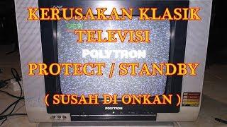 SERVIS KERUSAKAN TV POLYTRON PROTEK