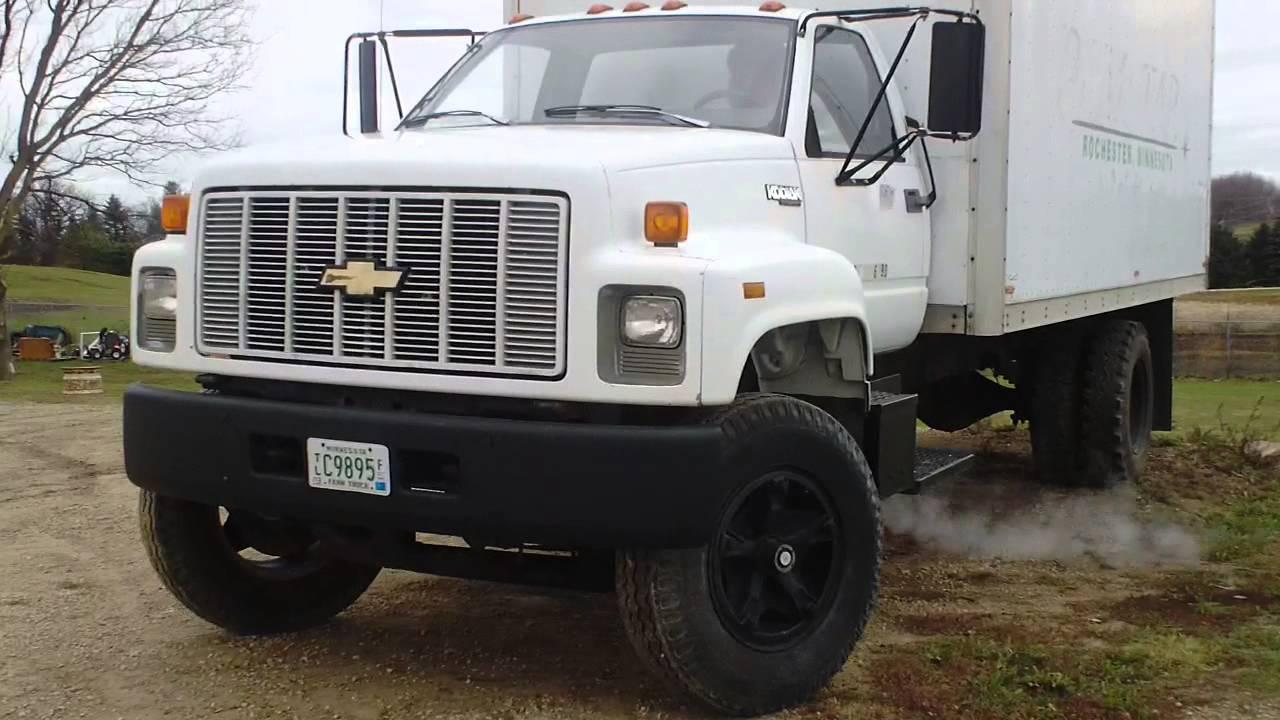 1993 Chevy Kodiak Box Truck - YouTube