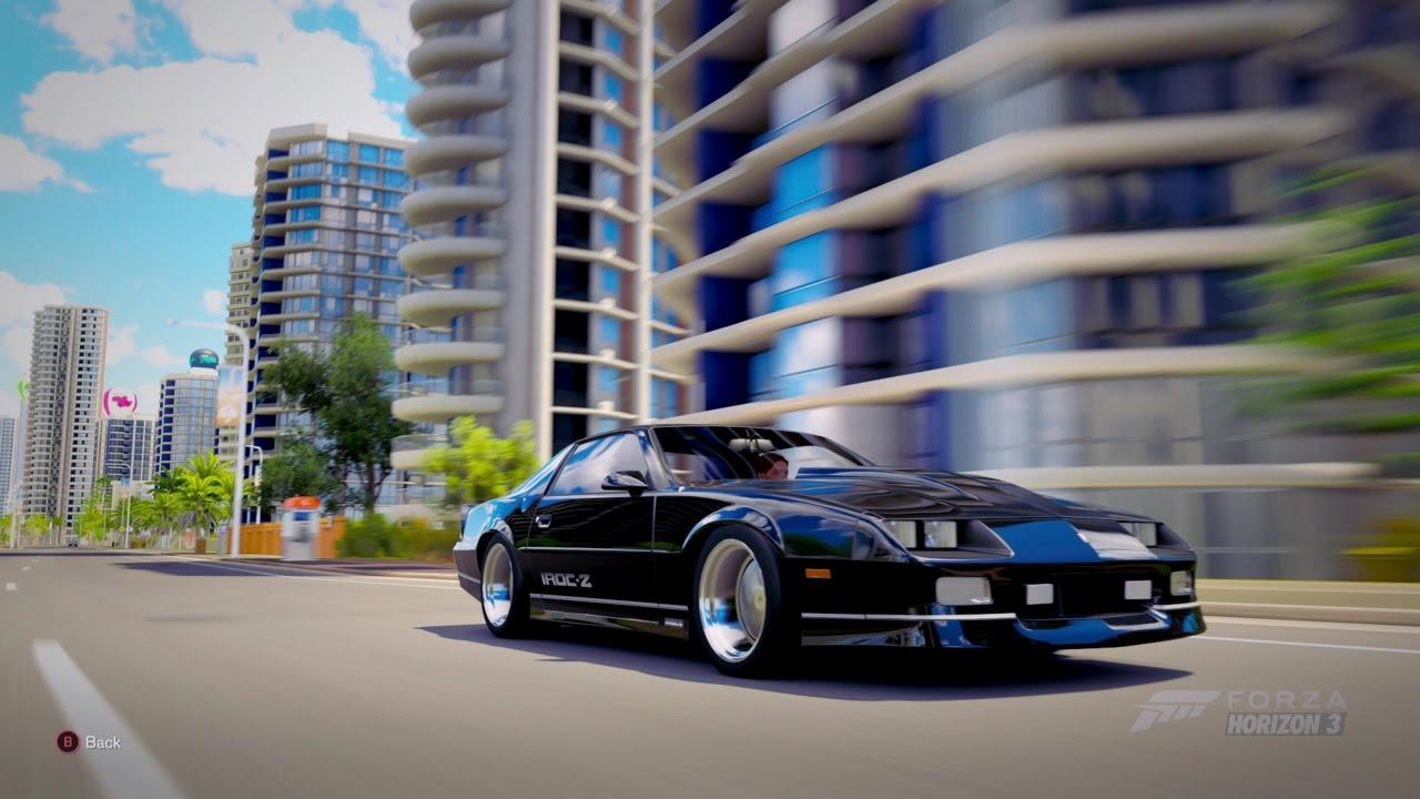 Forza Horizon 3| 1990 CHEVROLET CAMARO IROC-Z - YouTube