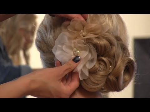 Bridal Hair: Traditional Updo