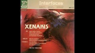 Xenakis - N'Shima (1975) – out of print recording