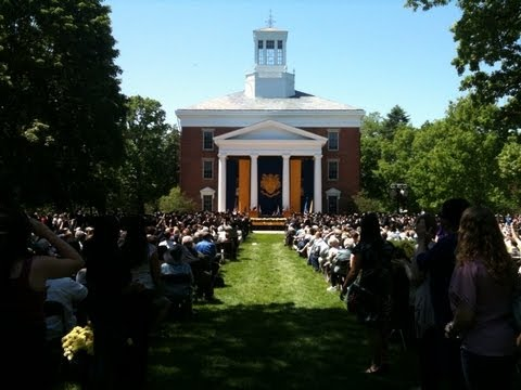The 162nd Commencement (2012) at Beloit College