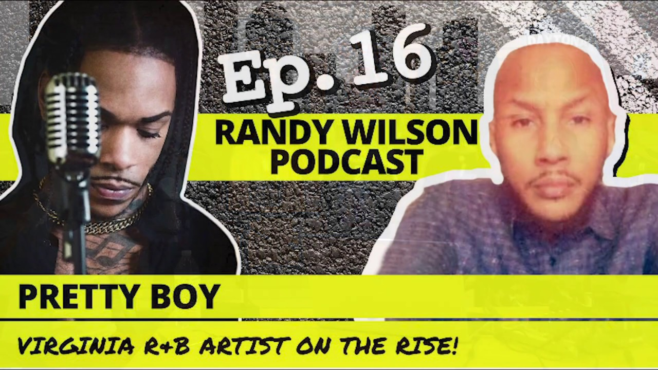 Pop Up Podcast with Pretty Boy on the Randy Wilson Podcast Ep 16 at Military Circle Mall