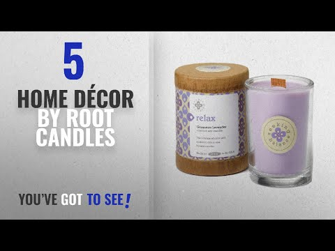 Top 10 Home Décor By Root Candles [ Winter 2018 ]: Root Scented Seeking Balance Relax Candle,