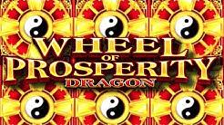 Live Play On Wheel Of Prosperity Dragon Slot Machine