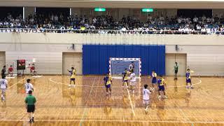 ハンドボール インターハイ予選 大阪府 大体大浪商vs桃山学院 後半