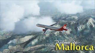 FSX - Air Berlin A321 to Mallorca