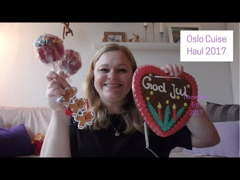 Oslo Cruise Haul 2017 (Day 6 of our daily vlogmas 2017)