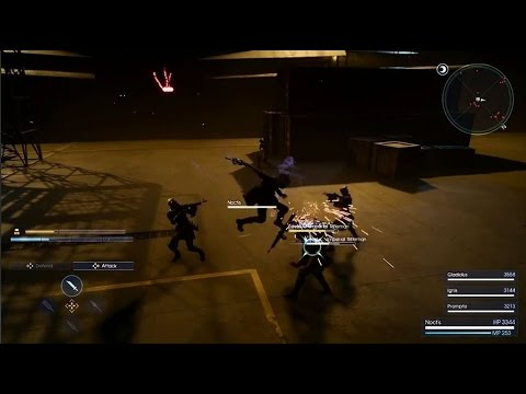 Final Fantasy XV - Batalha/Battle & Stealth Gameplay - Taipei Game Show 2016