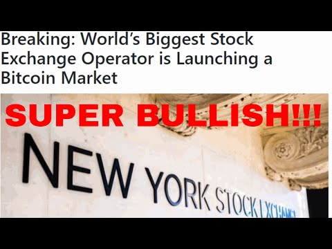 Breaking World's Biggest Stock Exchange Operator Is Launching A Bitcoin Market Nyse Ice