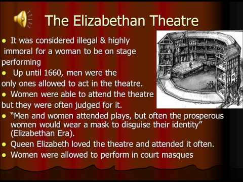 The Struggles for Women in Theatre History