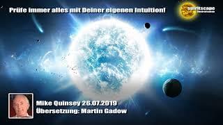 Mike Quinsey 26.07.2019 (Deutsche Fassung / Echte Lesung)