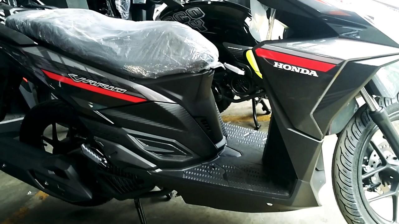 Honda Vario 125 Cbs Titanium Black 2017 YouTube