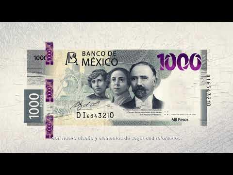 Billete de 1,000 pesos de la familia G - Revolución Mexicana