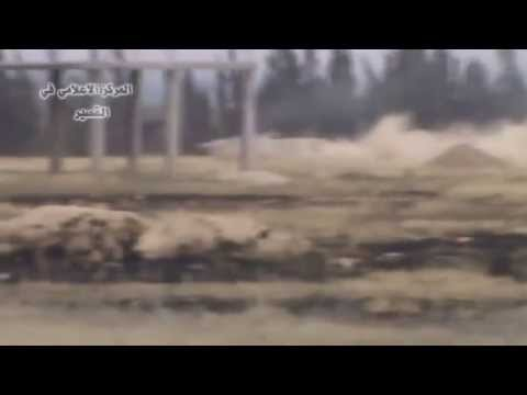 8 FSA terrorists fighting in Al Qusayr, Takes A Heavy Hit at The End