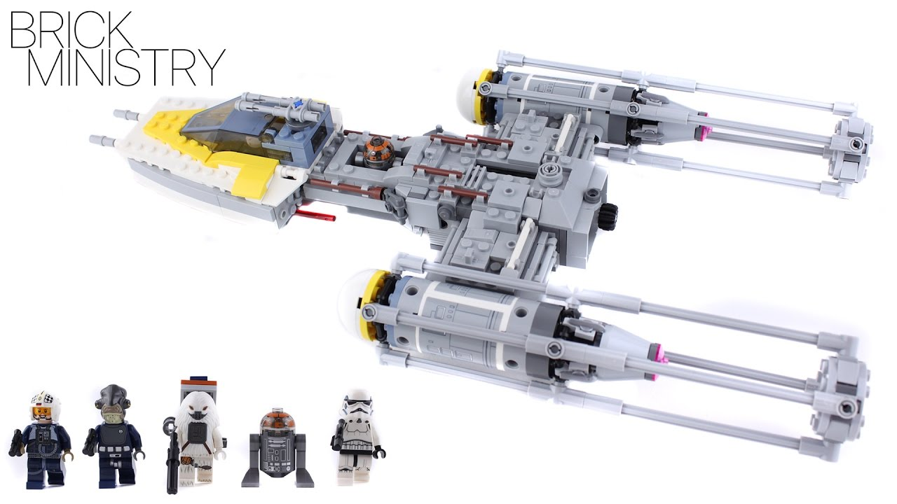 LEGO Star Wars Y-wing Starfighter 75172 New