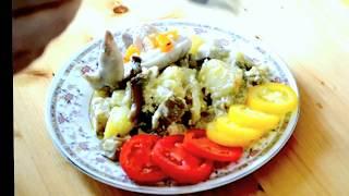 Готовим Белые Грибы с картошкой в глиняном горшке.  Вкуснотища!!!!