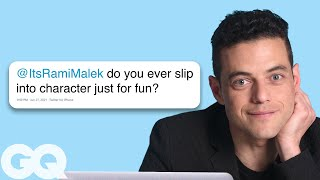 Rami Malek Goes Undercover on Reddit YouTube and Twitter  GQ