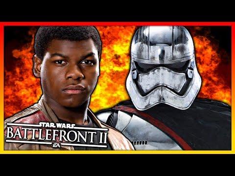 Download Youtube: FINN/CAPTAIN PHASMA GAMEPLAY ★ Star Wars Battlefront 2 ★ THE LAST JEDI DLC