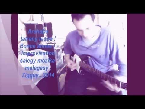 Salegy impro guitare malgache (Karibo anarô)