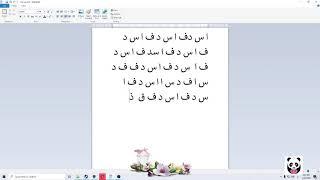 Bilgisayara Osmanlıca Q  Klavye veya F Klavye Nasıl Yüklenir ve Kullanılır .