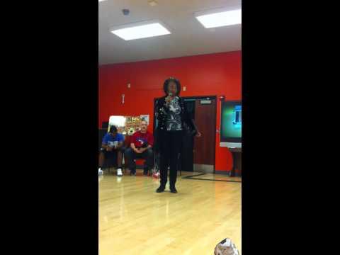 Damita Jo FreemanThe Original Queen of Soul Train HHSA speech