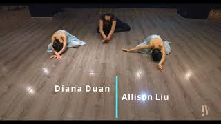 JY Dance Contemporary Ballet Demo - performed by Diana & Allison