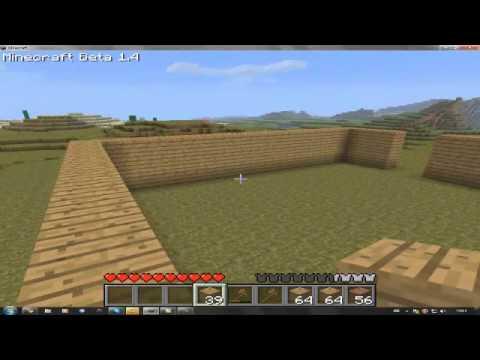 Minecraft tut 1 huis maken youtube for Huis maken minecraft