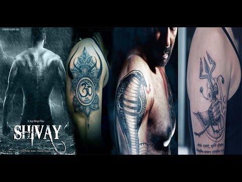 FASHION KA ADDA: hairstyles for men  |Ajay Devgan Shiva Tattoo Designs