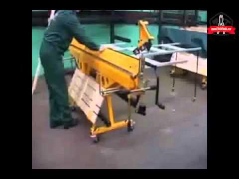 Станки для вальцовки листового металла