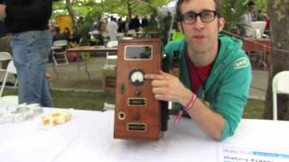 The History Eraser at Maker Faire 2011