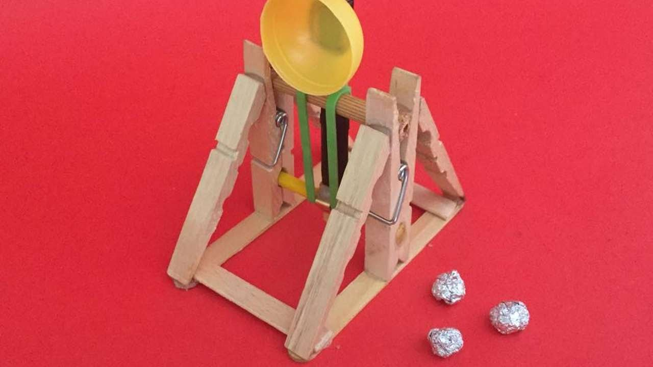 How To Make An Awesome Wooden Catapult Diy Crafts