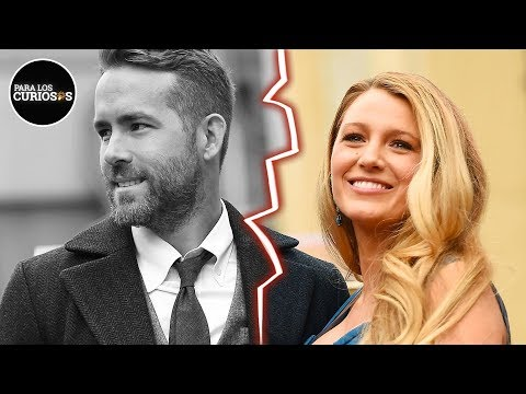 ¿Ryan Reynolds & Blake Lively Se Divorcian Y Scarlett Johansson Tiene La Culpa?