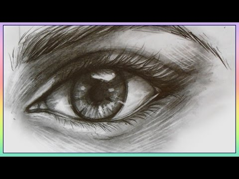 Tutorial - How to draw and shade a realistic eye
