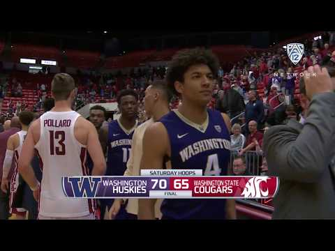 Men's Basketball: Washington surges past Washington State in 286th Apple Cup meeting