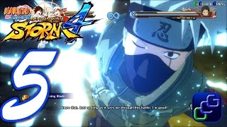 Naruto Shippuden Ultimate Ninja Storm 4 Walkthrough - Part 5 - A Pitch Black World, The Battle Inte