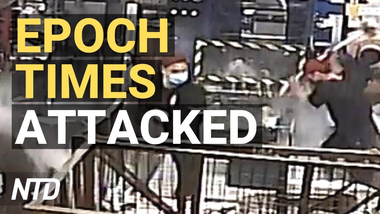 Intruders Attack The Epoch Times in Hong Kong; Biden Admin. Sued Over Immigration Exec. Orders | NT
