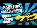 GTA 5 ONLINE GARAGE & HOUSE HACKED!? Mod Or Glitch?