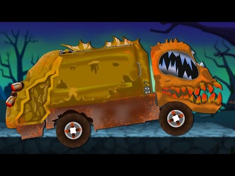 scary garbage truck | formation and uses for children