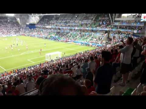 Slovakia v England Footballs Comming Home Pre Match