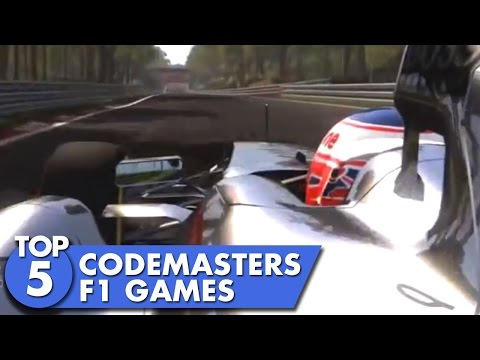 Top 5 Codemasters F1 Games