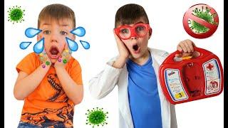 Смешная история про вирусы и микробы