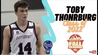 6'6 SF Toby Thornburg - DIFFERENT 2022 - The Hun School - WCE Utah Fall Classic